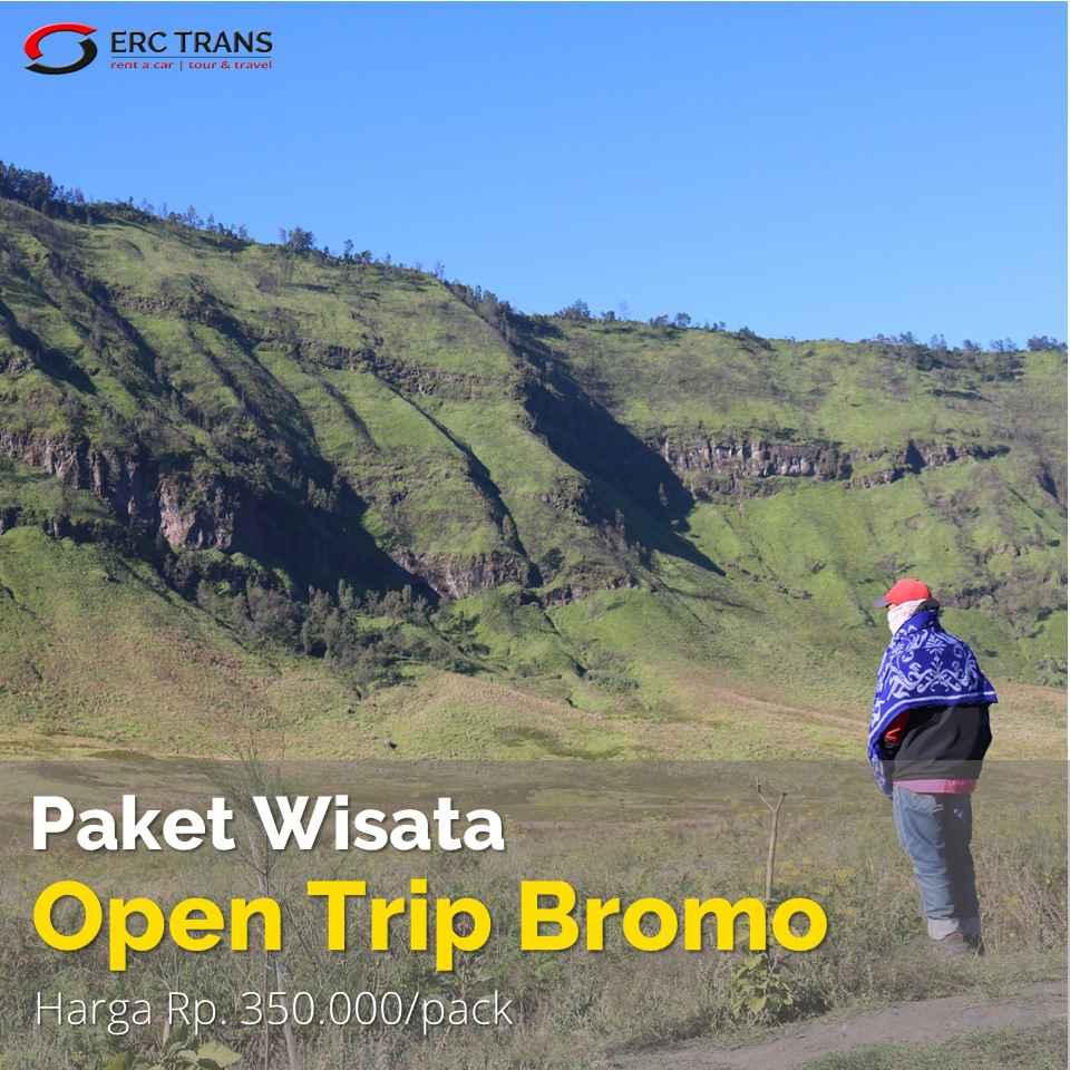 wisata open trip bromo