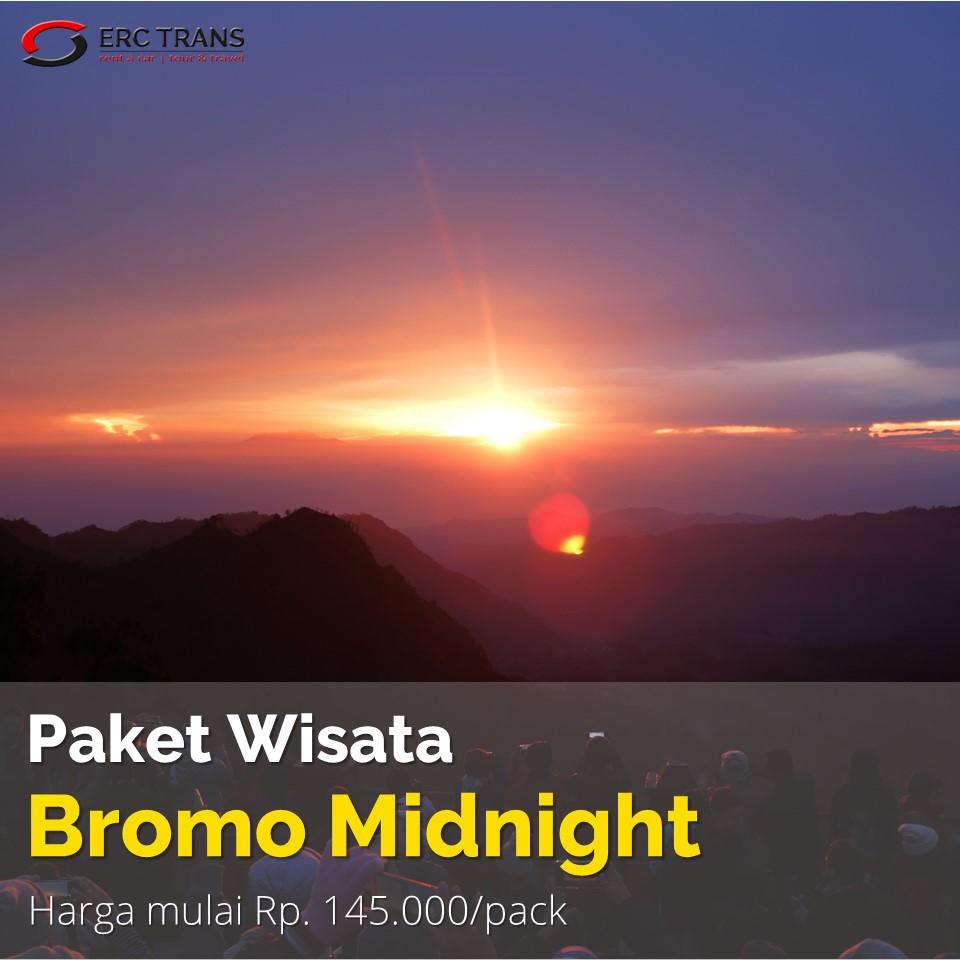 paket wisata bromo midnight sunrise
