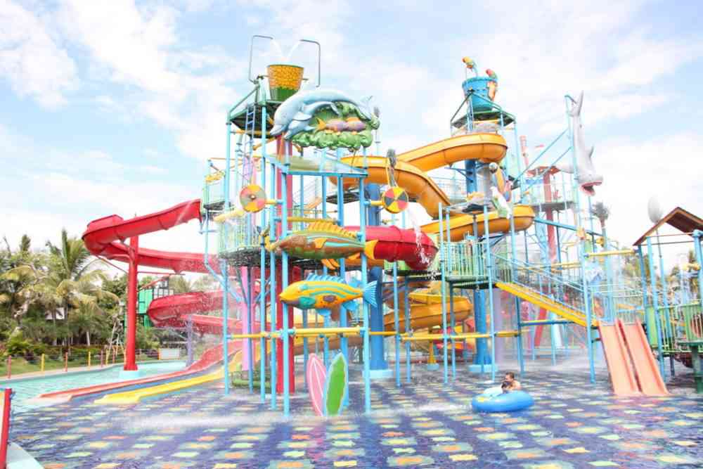 hawai waterpark dibuka kembali