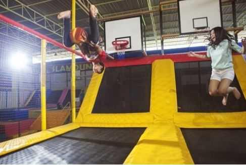 trampoline wahana predator fun park