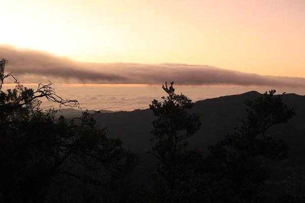 sunrise di puncak b29