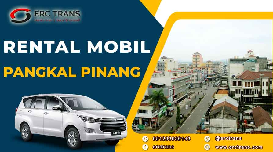 rental mobil bangka