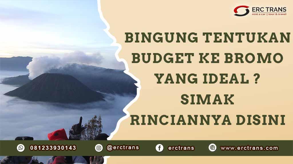 budget ke bromo